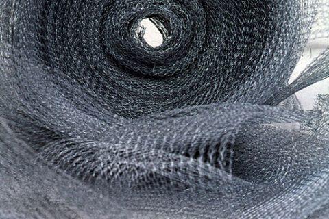 Tela Tricotada em Aço Galvanizado